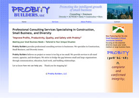 Probity Builders Screen Shot