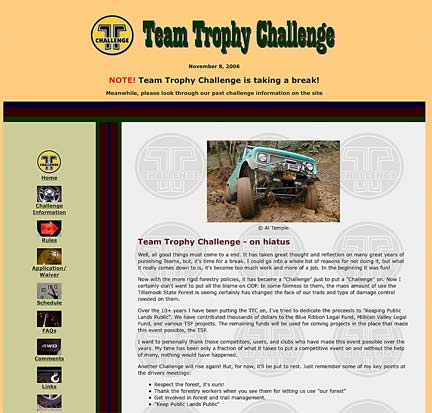 Team Trophy Challenge screen shot